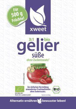 xweet bio gelier süße 10x170g