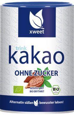 xweet bio trink kakao ohne zucker 6x300g