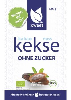 xweet kakao-nuss kekse bio 7x125g
