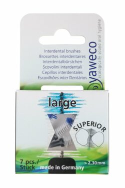 yaweco Interden-Bürsten groß(schwarz) 6x7St