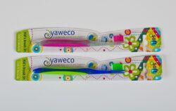yaweco Kinderzahnbürste soft, biobasierte Verpackung 6x1Stück